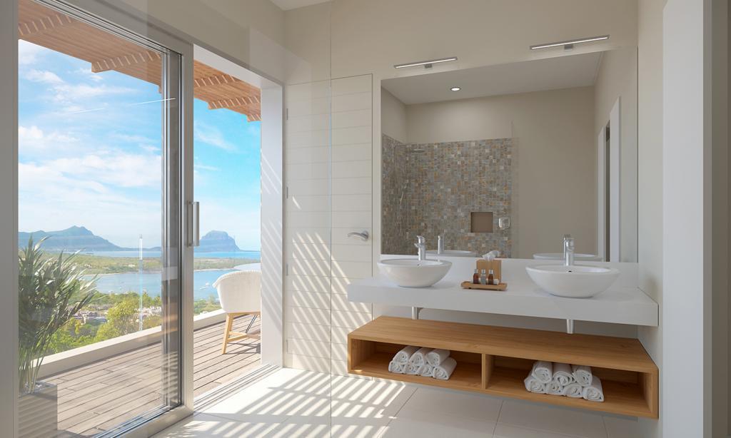 Bathroom of the bedroom 3